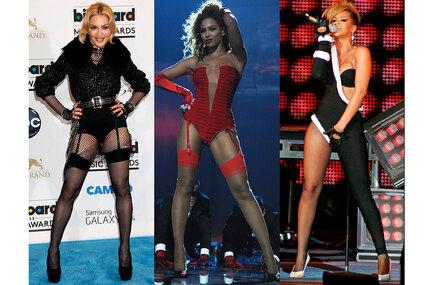 У-ля-ля! 7 звезд, концертные костюмы которых выглядят чересчур вызывающе