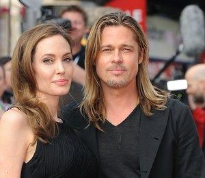 Анджелина Джоли и Брэд Питт поделили детей?