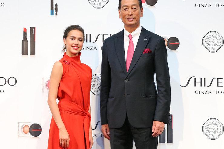 16-летняя Алина Загитова стала лицом Shiseido
