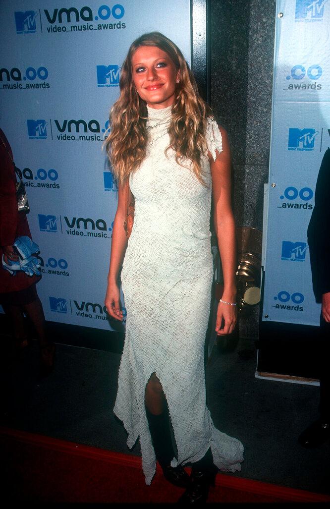 Жизель Бюндхен на церемонии MTV Video Music Awards, 2000