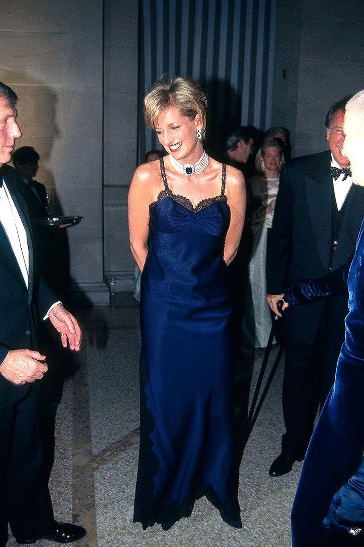 Принцесса Диана наMet Gala, 1995 год