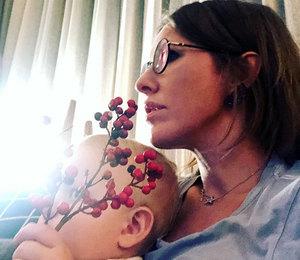 Двухлетний сын Ксении Собчак поздравил на английском дочь Максима Виторгана