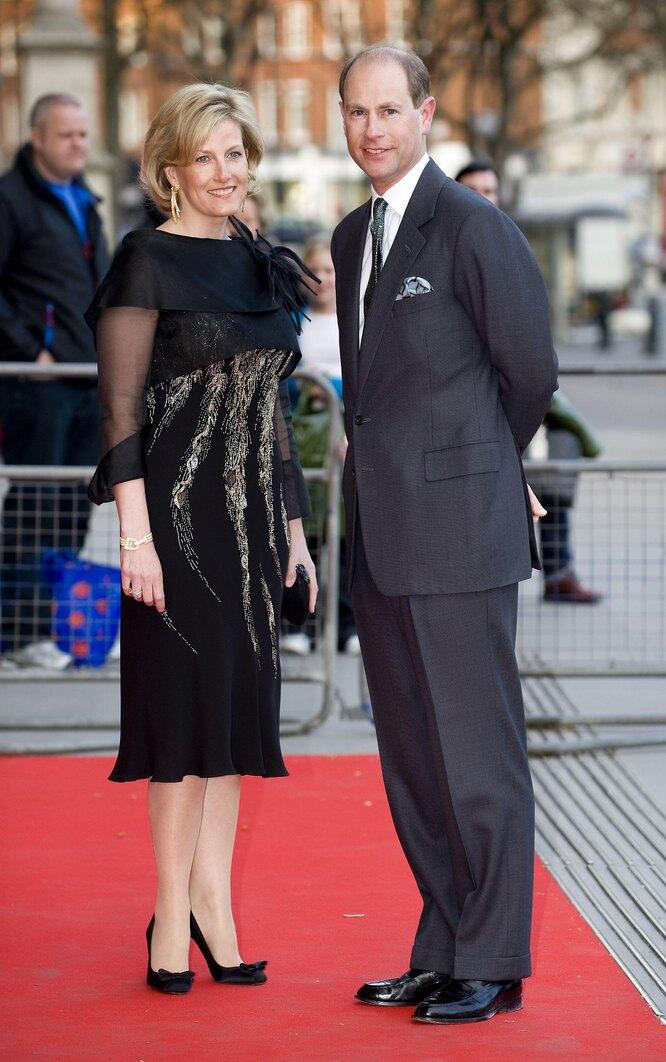 Графиня Софи и принц Эдвард