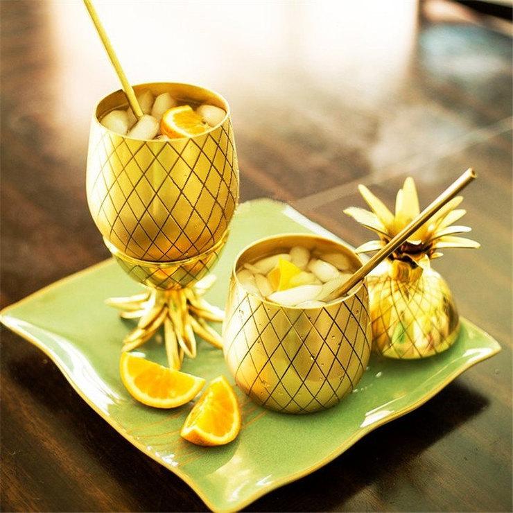 Кружки ввиде ананаса, 1 211 руб. (на сайте Aliexpress)
