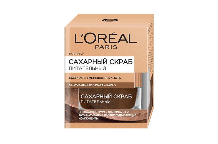 Сахарный скраб «Питательный», L'Oréal Paris