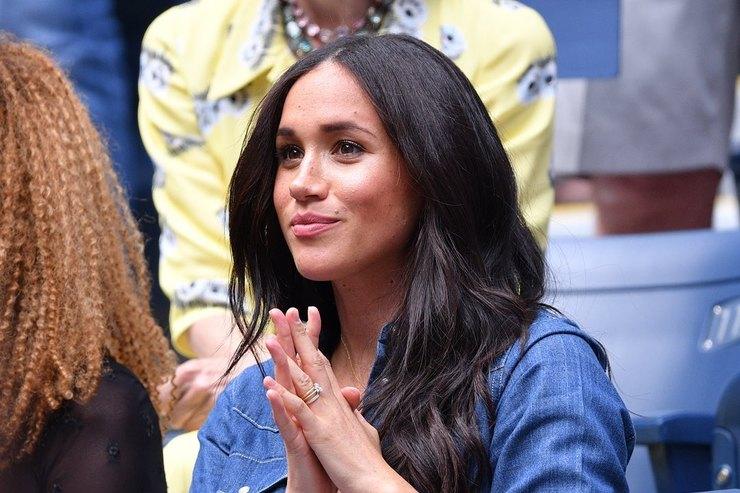Меган Маркл эмоционально поддержала Серену Уильямс вфинале US Open