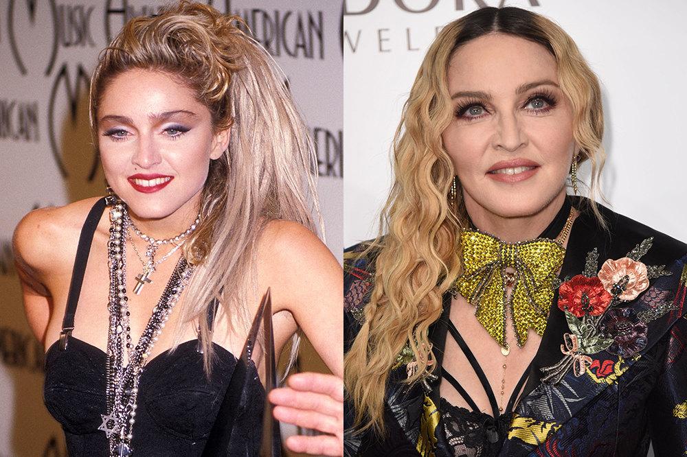Мадонны тогда исейчас