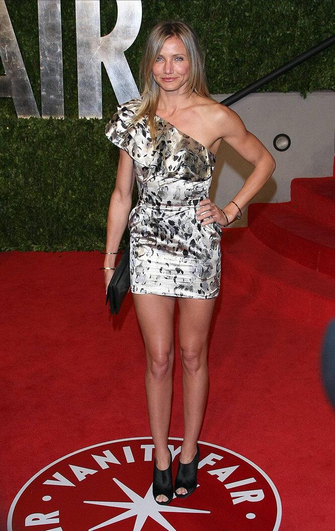 КэмеронДиаз в 2011году вечеринке Vanity Fair