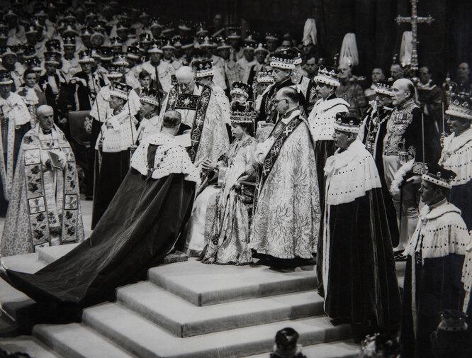 Коронация Елизавета II, 1953
