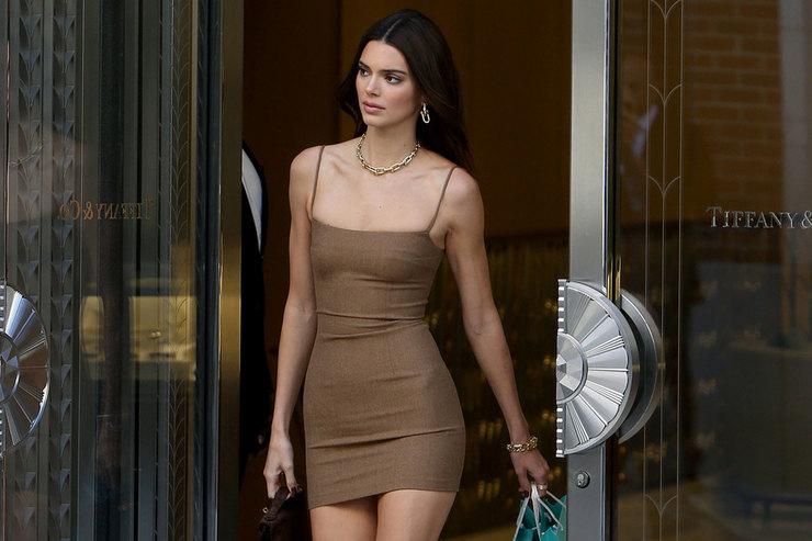 Смело исексуально: Кендалл Дженнер внюдовом мини-платье вНью-Йорке
