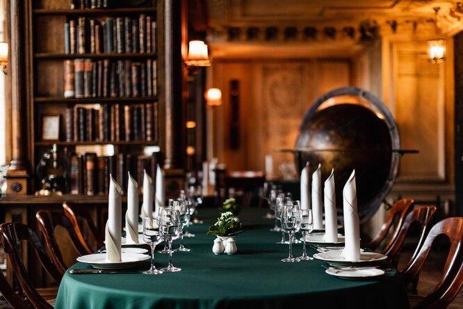 Зал «Библиотека». Кафе «Пушкинъ»
