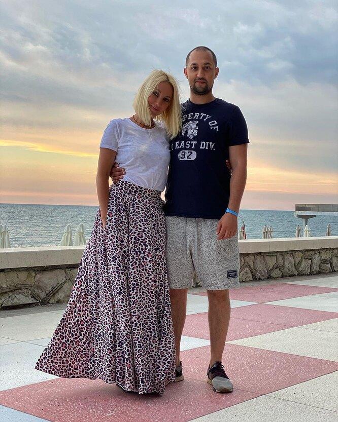 Лера Кудрявцева с сыном