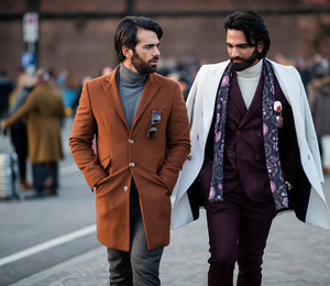 Образцовые костюмы: идеальные мужчины наPitti Uomo во Флоренции