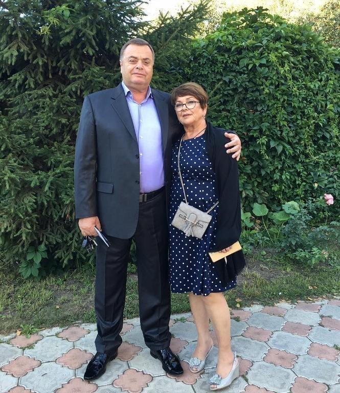 Родители Жанны Фриске Ольга иВладимир Копыловы