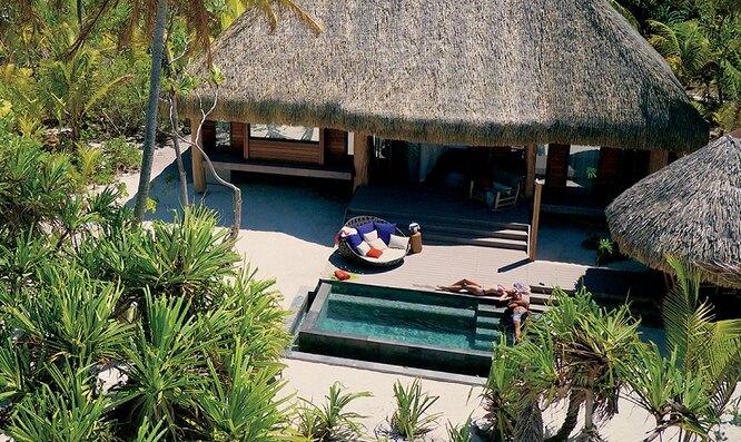 Курорт на острове Тетиароа
