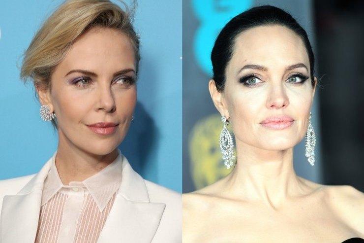 За что Шарлиз Терон точит зуб наАнджелину Джоли?