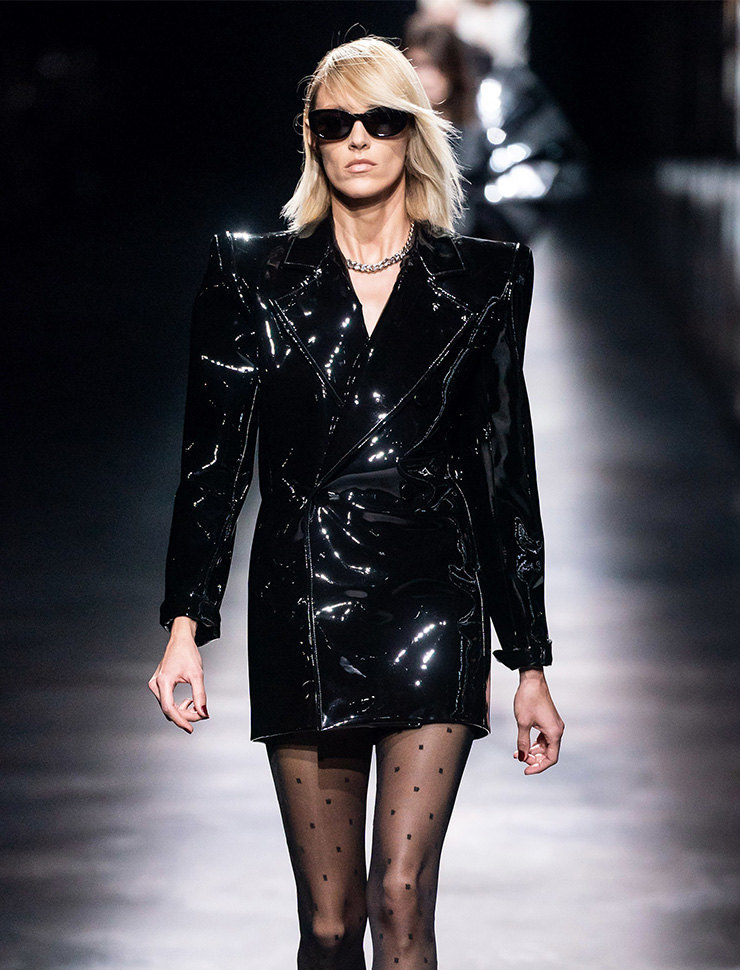 Saint Laurent осень-зима 2019/20