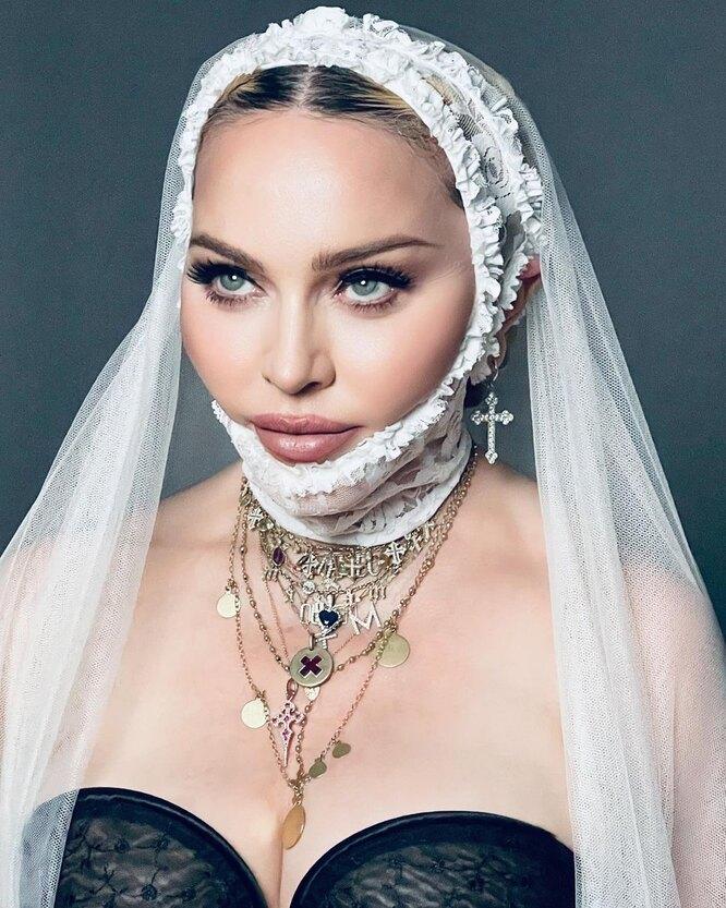 Мадонна в образе невесты