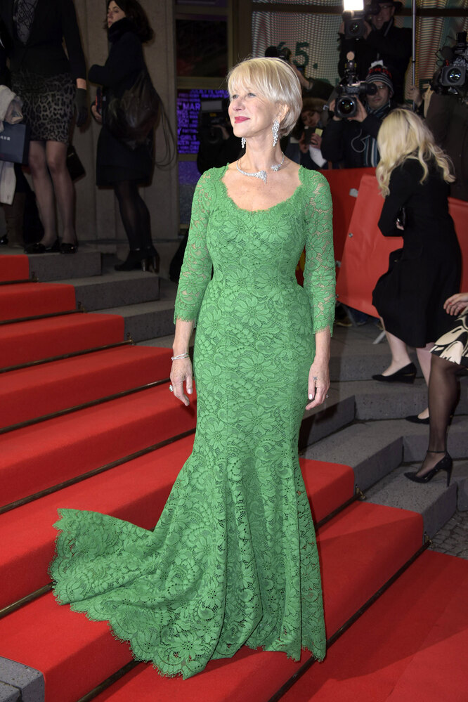 Хелен Миррен на Берлинском кинофестивале, 2013
