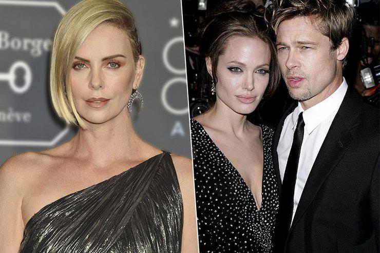 Почему роман Брэда Питта сШарлиз Терон больше похож наместь Анджелине Джоли?