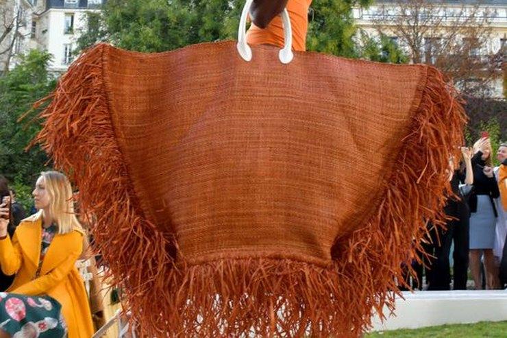Маслом нарафии: пляжные сумки, которые напоминают произведение искусства