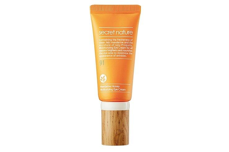 Увлажняющий крем длявек Mandarine Honey Moisturizing Eye Cream, Secret Nature