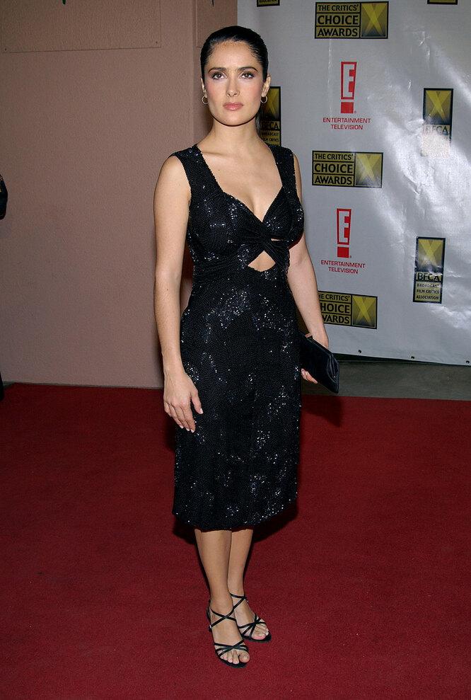 Сальма Хайек в 2003 году на церемонии вручения премииCritics' Choice Awards