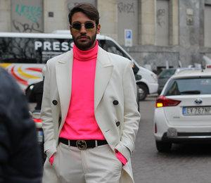 Больше цвета: яркие акценты наНеделе мужской моды вМилане