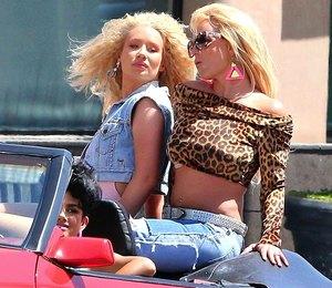 Спелись: Бритни Спирс и Игги Азалия в клипе Pretty Girls