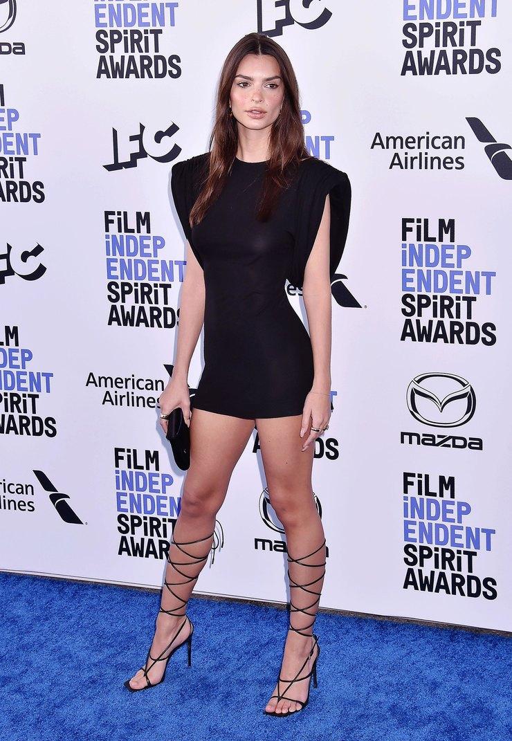 Эмили Ратаковски наFilm Independent Spirit Awards 2020