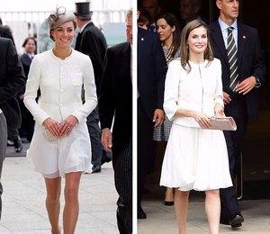 По образу и подобию: Королева Испании копирует стиль Кейт Миддлтон