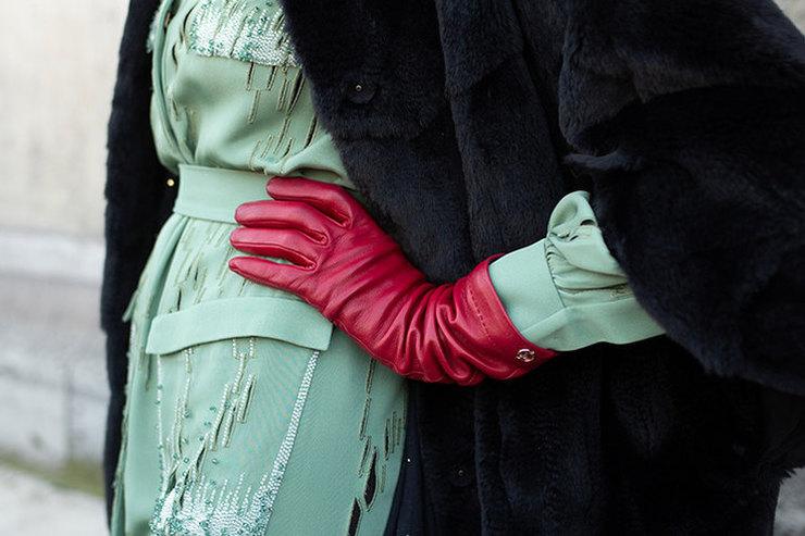 Как правильно ибыстро выбрать стильные кожаные перчатки наосень?