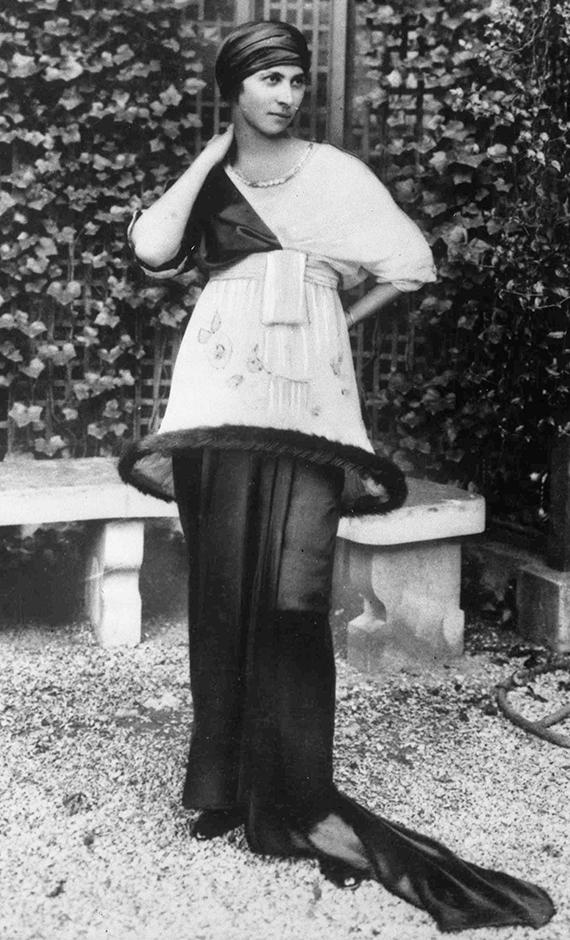 фото знаменитых моделей Дениза Пуаре