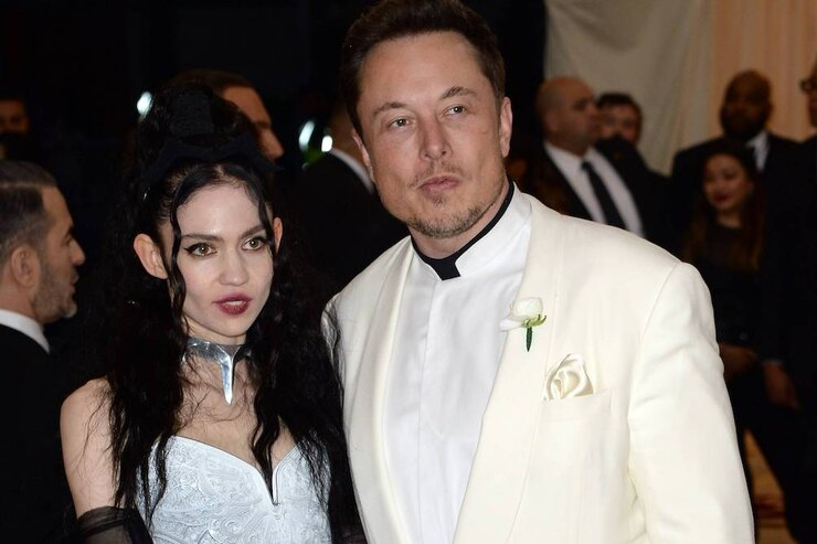 Изобретатель Илон Маск ипевица Граймс расстались после трех лет отношений
