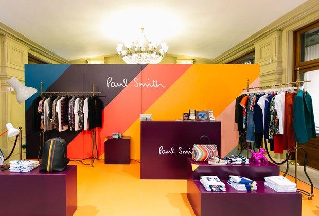 Нашествие британской элегантности: ВГУМе открылся pop-up store Paul Smith