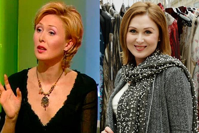 Елена Ищеева тогда и сейчас