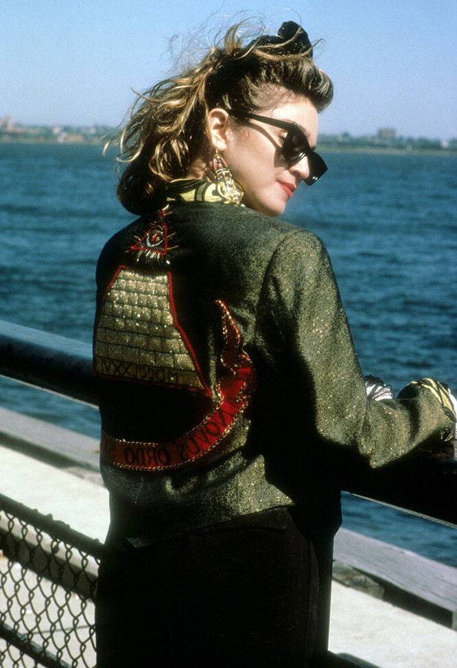 Мадонна в 1985 году