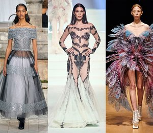Прозрачные, сказочные, странные: 15 самых удивительных кутюрных платьев Недели моды вПариже