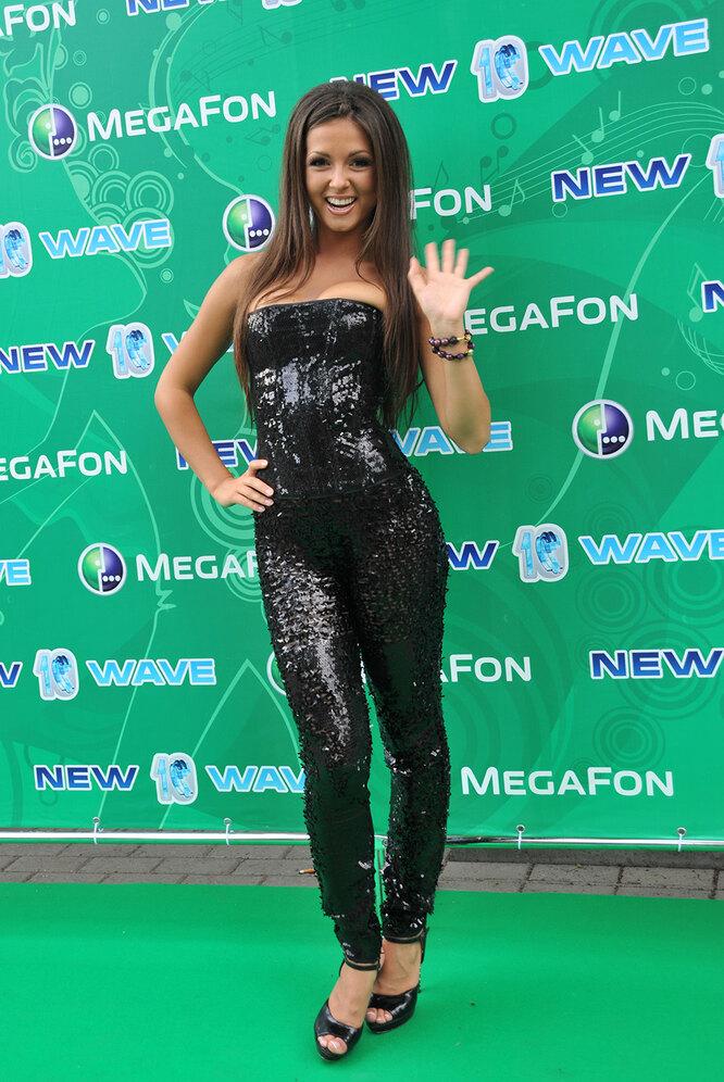 """Нюша в 2011 году на конкурсе """"Новая волна"""""""