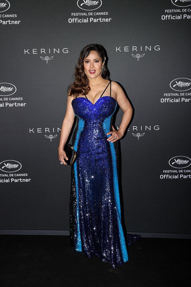 Сальма Хайек в 2021 году на Каннском кинофестивале
