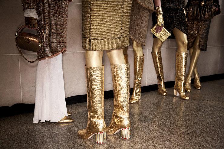 Сокровища Клеопатры: аксессуары Chanel Paris-New York 2018/19 Métiers d'Art