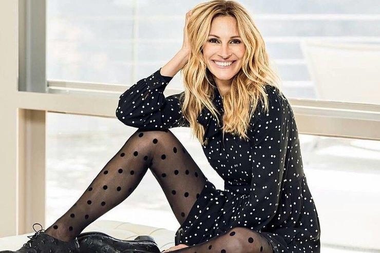 Модные приемы Джулии Робертс, которые сделают ваши ноги длинными истройными