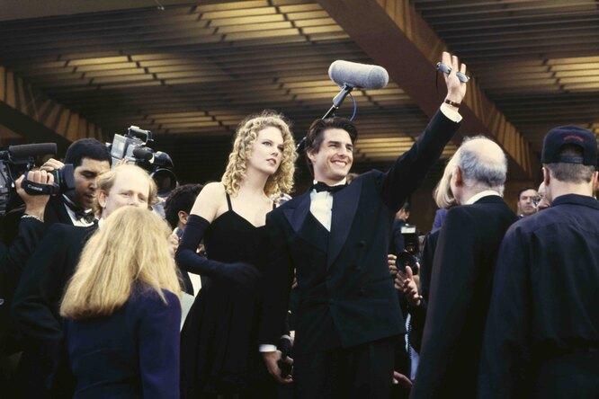 1992 г. Николь Кидман и Том Круз