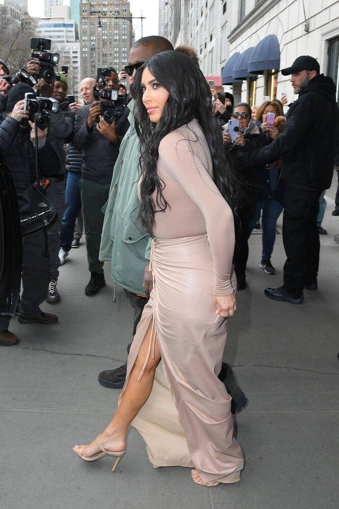 Ким Кардашьян совершила модный конфуз