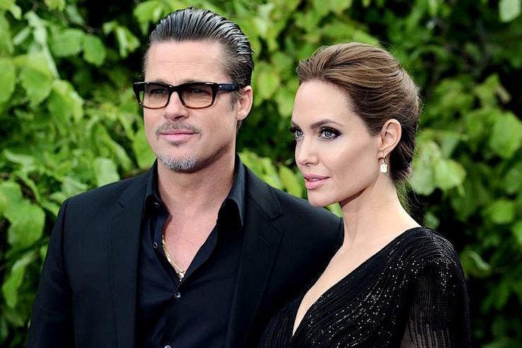 Анджелина Джоли вярости из-за перемирия между Брэдом Питтом иДженнифер Энистон