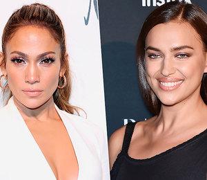 Кому идет больше? Ирина Шейк и Дженнифер Лопес вышли в свет в одинаковых платьях