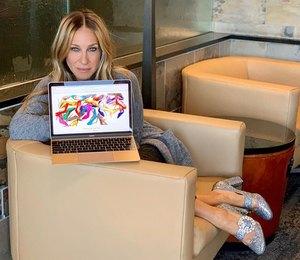 Добавьте туфли: как Сара Джессика Паркер делает джинсы стильными