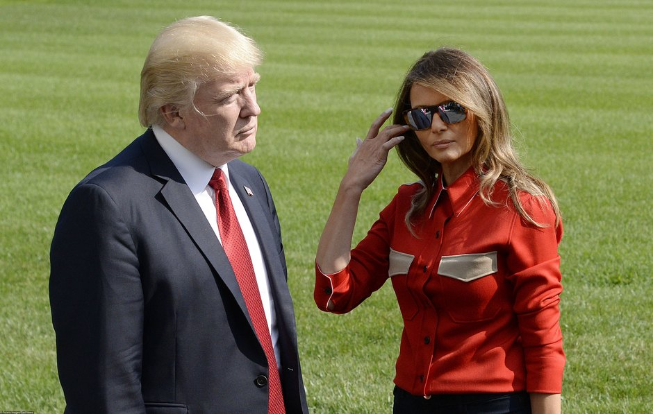 Дональд иМелания Трамп