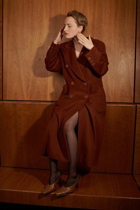 Винтажное пальто Escada