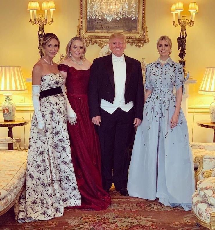Лара Трамп, Тиффани Трамп, Дональд Трамп иИванка Трамп